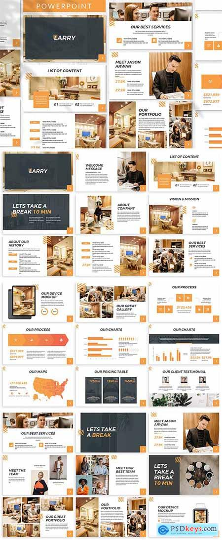 Larry - Business Powerpoint Template