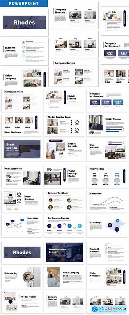Rhodes - Business Powerpoint Template