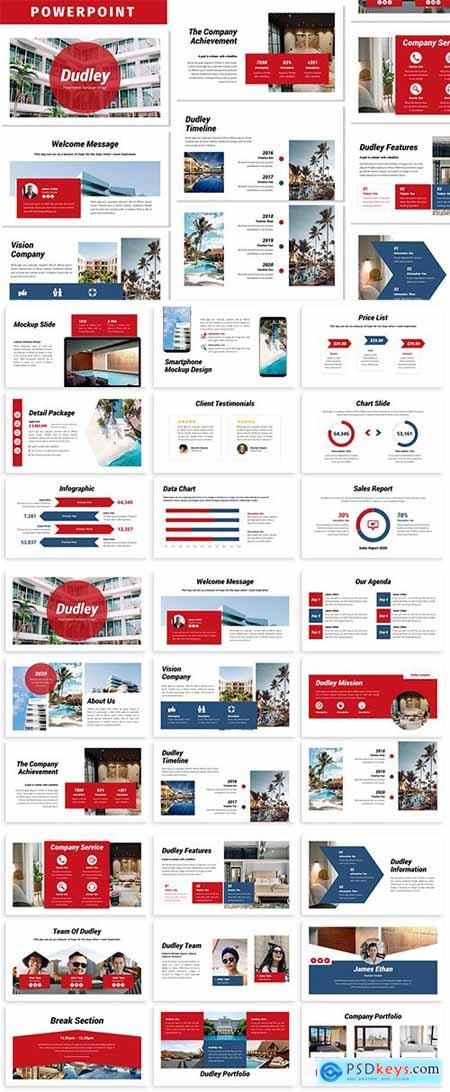 Dudley - Business Powerpoint Template