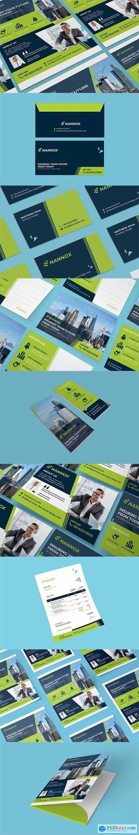 Business, Corporate Print Set