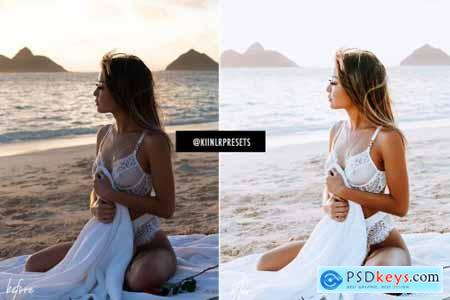 12 WHITE LIGHTROOM MOBILE PRESETS 4603988