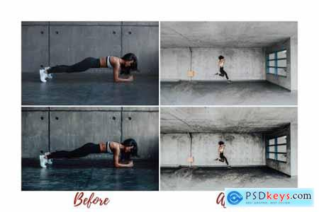 Mobile Lightroom Presets FITNESS 4820811