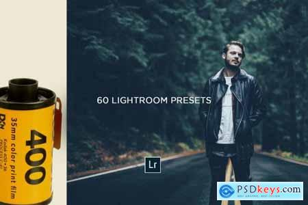 60 FILM LOOK Bundle LR Presets 4622178