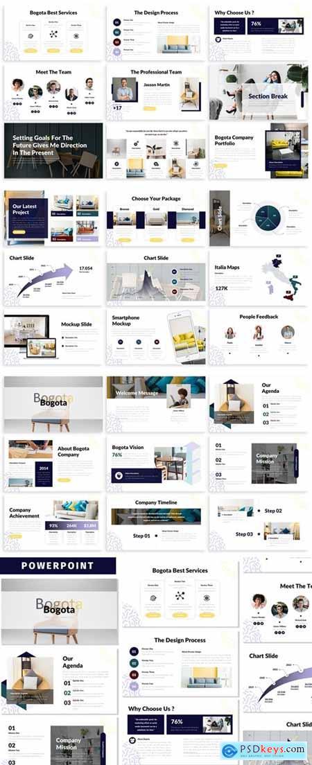 Bogota - Business Powerpoint Template