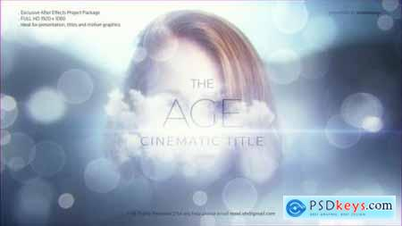The Age Cinematic Title 26331365