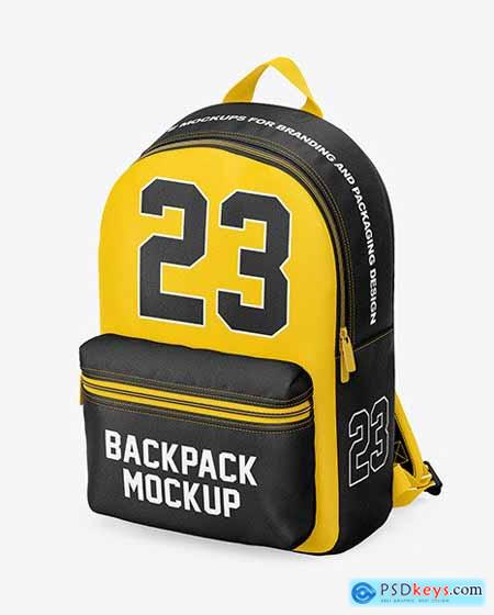 Backpack Mockup - Half Side View 58864