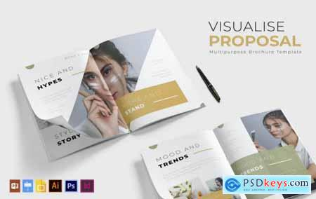 Visualise Brochure Template