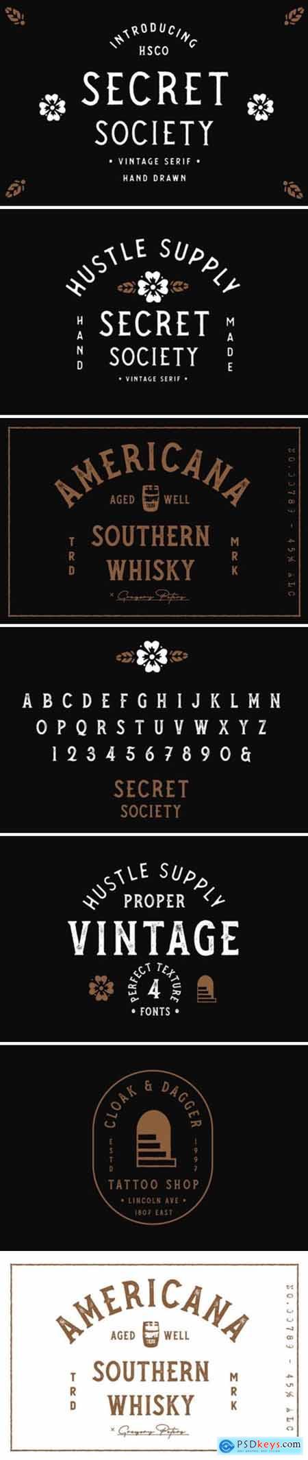 Secret Society Font