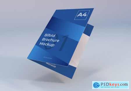 Simple bifold brochure template
