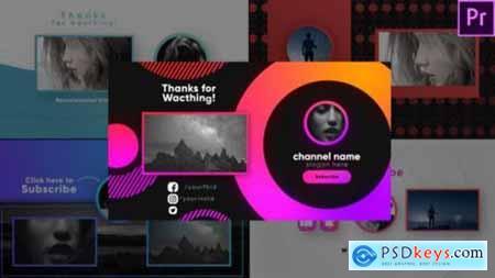Youtube Stylish Endscreens-Premiere Pro 26467952