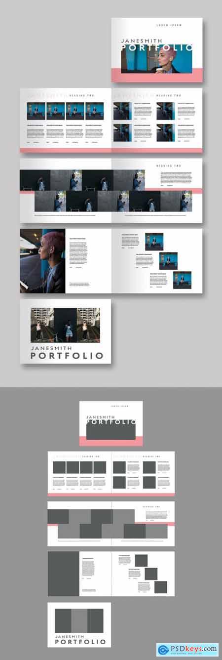 Portfolio Lookbook Layout 342074163