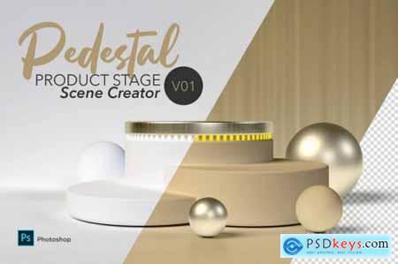 Pedestal Scene Creator V01