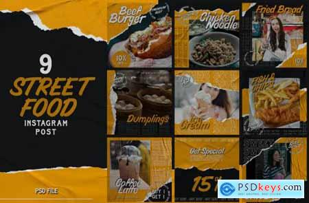 Street Food instagram Post