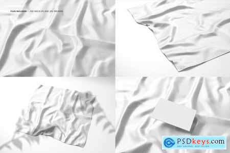 Square Silk Mockup Set (02-FFv.12) 4442173