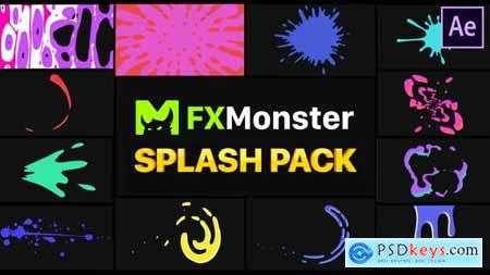 Splashes Pack After Effects 26141436