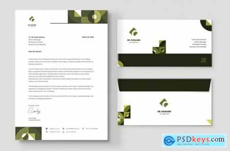Letterhead Envelope Stationery