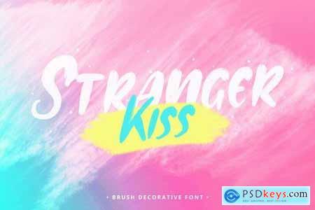 Stranger Kiss - Font