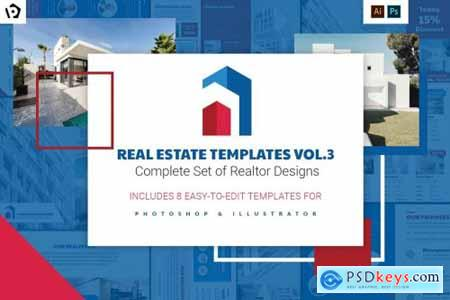 Real Estate Templates Pack Vol.3 4410440