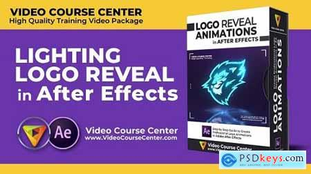 Create Professional Lighting Logo Reveal in After Effects CC - Motion Graphics