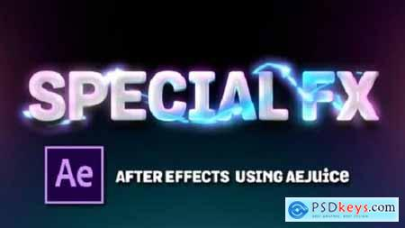 Special FX in After Effects Using AEJuice