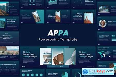 APPA Business Powerpoint, Keynote and Google Slides Templates