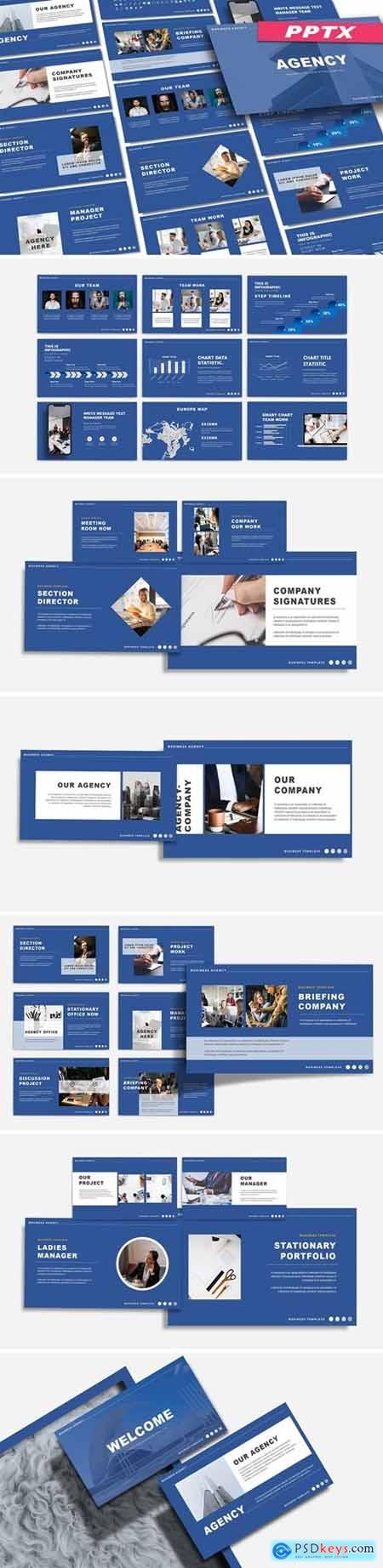 AGENCY - BUSINESS Powerpoint, Keynote and Google Slides Templates