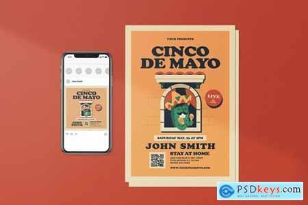 Virtual Concert Cinco De Mayo Package