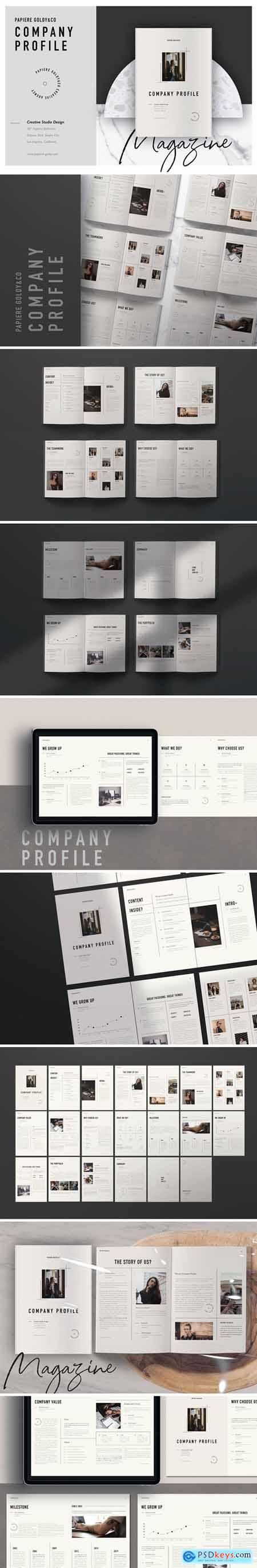 Papiere Goldy & Co Company Profile
