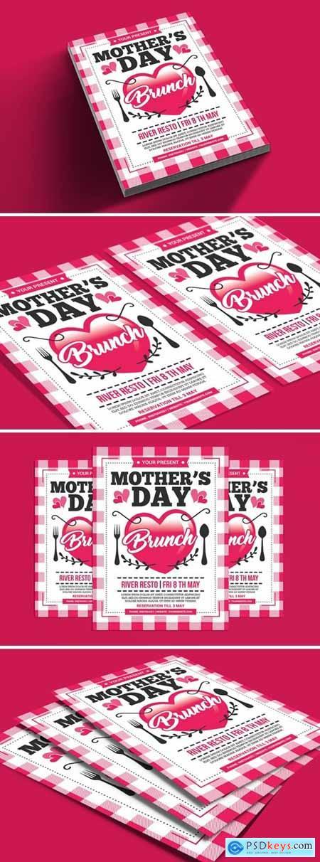 Mothers Day Brunch Flyer