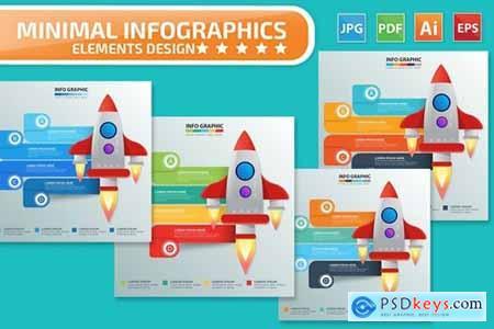 Rocket Infographics design