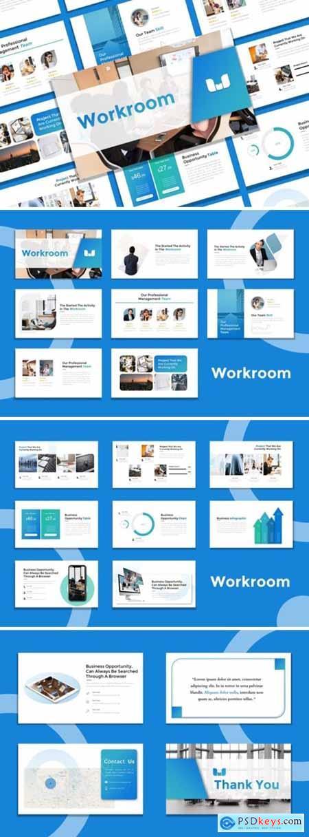 Presentation Templates - Workroom 3964755