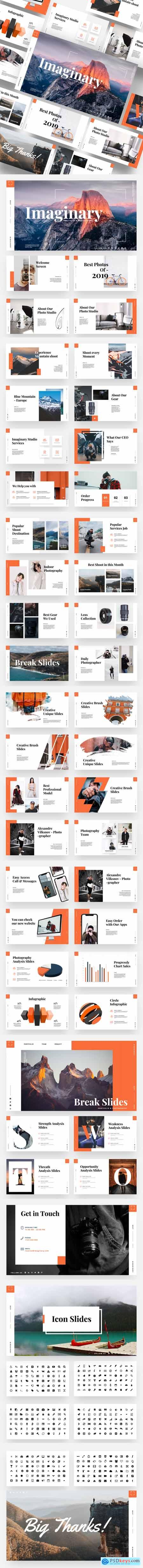 Imaginary - Portfolio & Photography Powerpoint Template 23619490