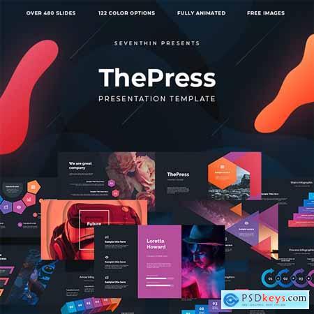 ThePress - Animated Powerpoint Template 23866560