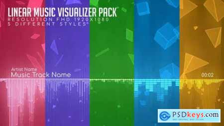 Linear Music Visualizer Pack 26505265