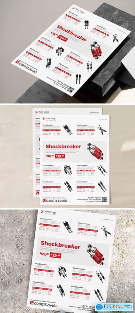 Product Flyer Template 3973896