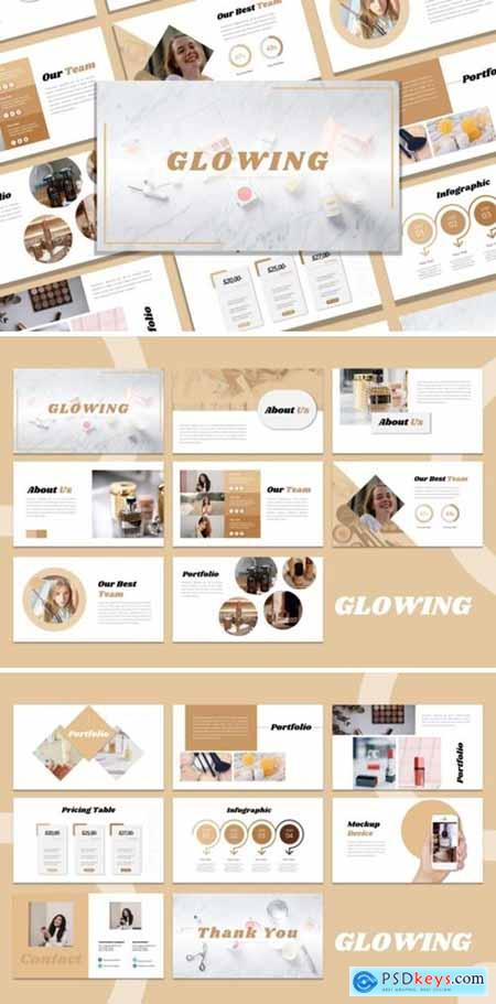 Presentation Template - Glowing 3973915