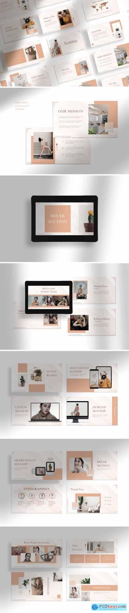 Souma - Presentation Template 3975849