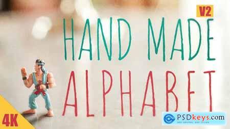Hand Made Alphabet V2 17505824
