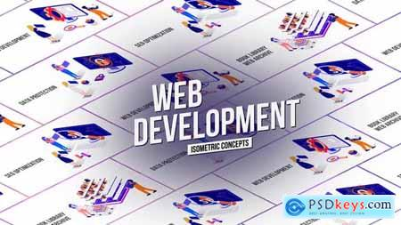 Web Development Isometric Concept 26531167