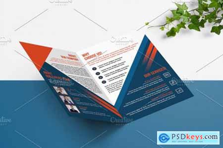 Business Bifold Brochure V988 4481515