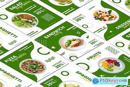 Restaurant Banners Social Media Post Templates