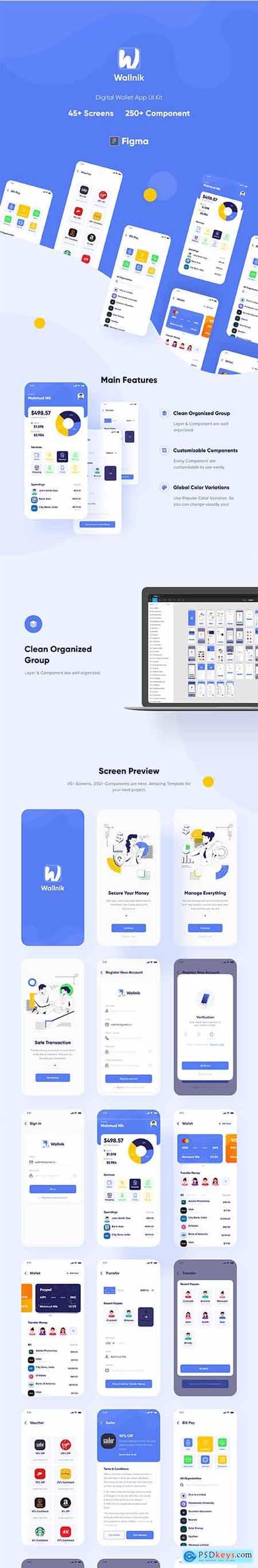 Wallnik - Digital Wallet App