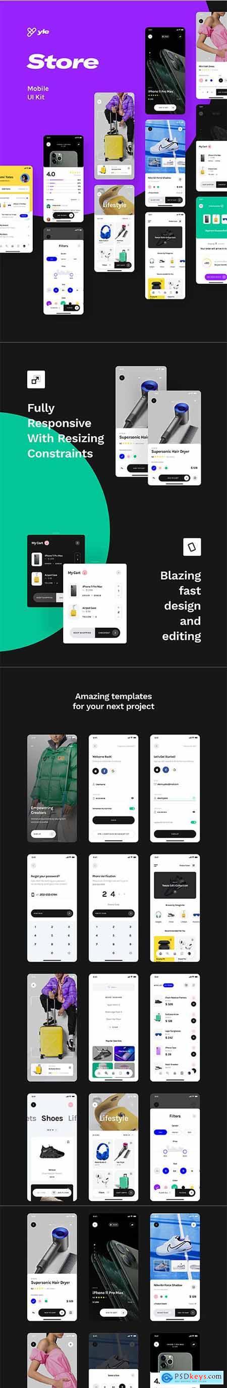 Yle Store Figma UI Kit
