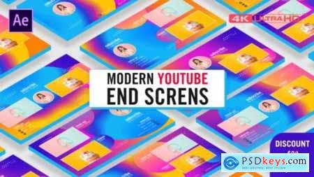 Modern Youtube End Screens 26371058