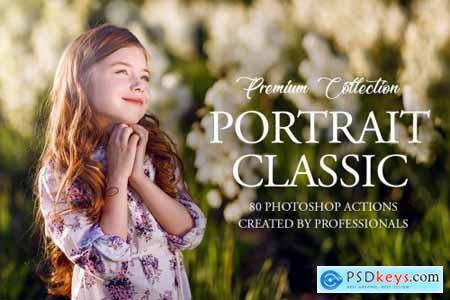 Classic Portrait Photoshop Actions 3545232