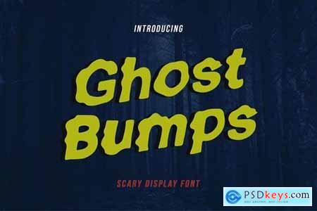 GhostBumps - Scary Display Font RG 4852738