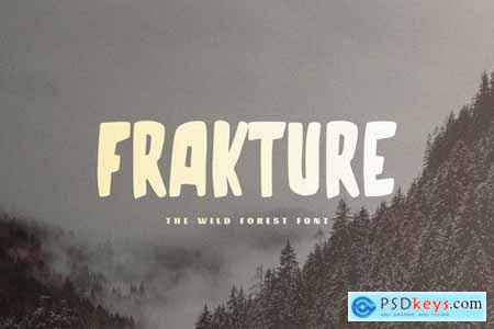 Frakture - The Wild Forest Font