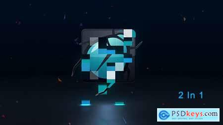 Modern Mosaic Logo Reveal 15521487