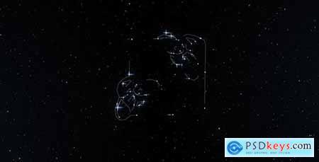 Dream Constellation Space Logo Reveal 14882383