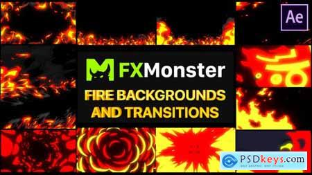 Fire Backgrounds And Transitions After effects 26520944